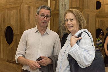 Esteban Álvarez y Laura Buccellato
