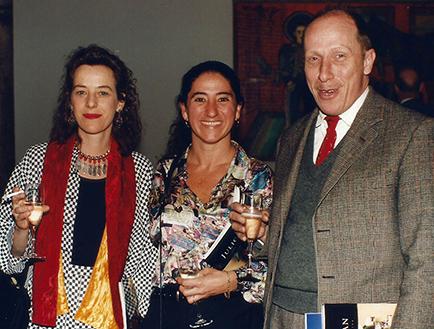 Isabel de Laborde, Orly benzacar y Santiago García Saenz