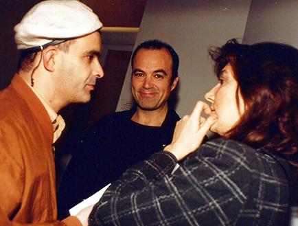 Julio Sánchez, Daniel Herce y amiga