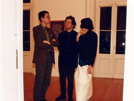 Lux Linder, Martín Larralde y Josefina Ayerza