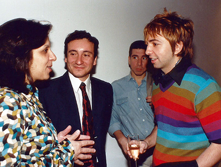 Georgina Gil, Andrés Castro y Adrián Dárgelos