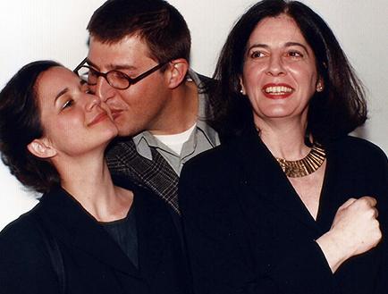 Ines Katzenstein, Mariano Clusellas y Adriana Rosenberg