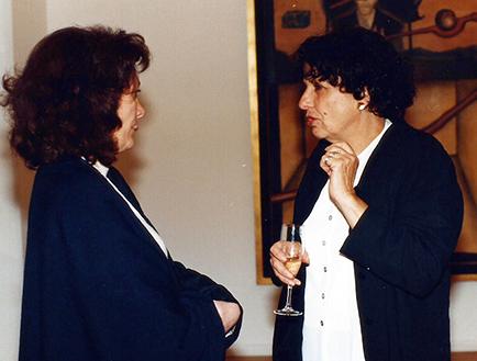 Laura Buccellatto y Chula Osorio