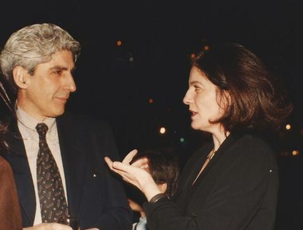 Caparra y Adriana Rosenberg