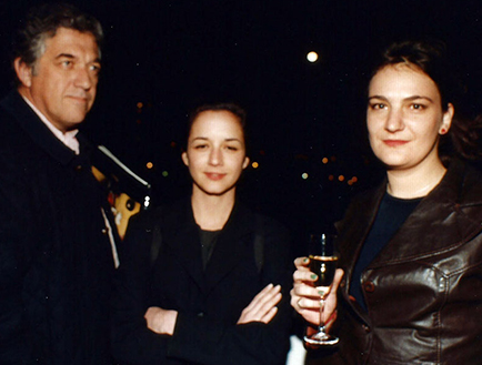 César Menegazzo, Inés Katsenstein y Alejandra Seeber