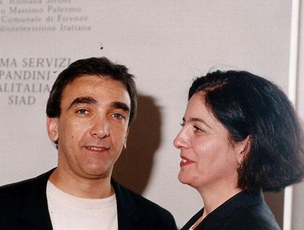 Guillermo Conte y Adriana Rosenberg