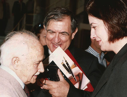 Romualdo Brughetti, Vittorio Fagonne y Adriana Rosenberg
