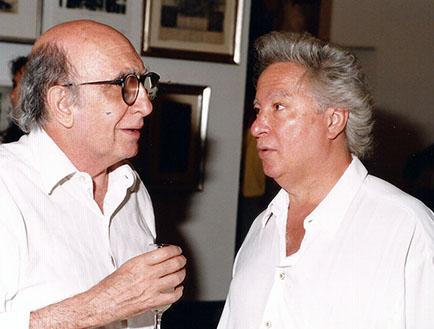 Yuyo Noé y Rogelio Polesello