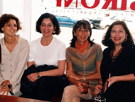 Analía Segal, Adriana Rosenberg, Alejandra Britos