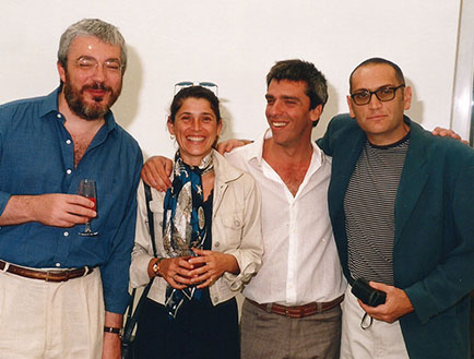 Alejandro Trapani, Claudia Bono, Santiago Bengolea, Ernesto Korovsky