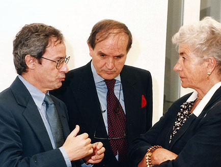 Andreína Rocca y Embajada de Italia