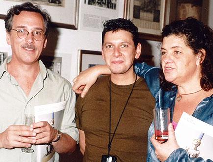 Germán Carvajal, Sergio Avello y Graciela Paats