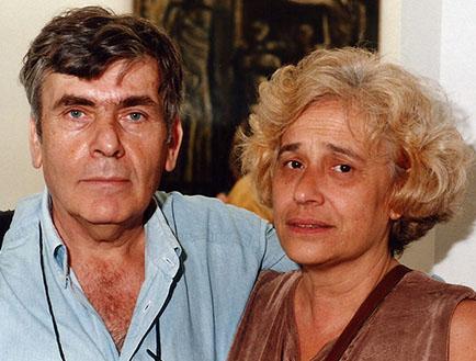 Pedro Roth y Coco Larrañaga