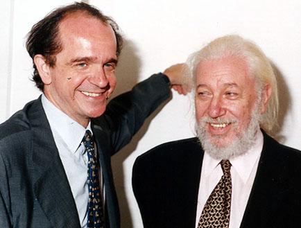 Renato Miracco y Jorge Glusberg