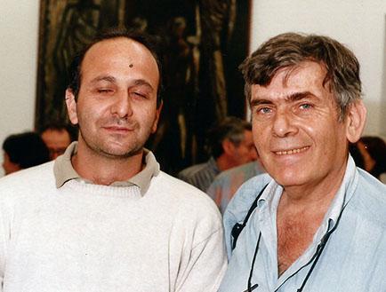 Mariano Billik y Pedro Roth