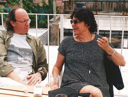 Jorge Heilpern y Chula Osorio