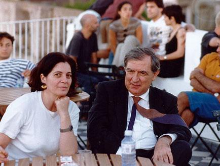 Adriana Rosenberg y Vittorio Fagonne