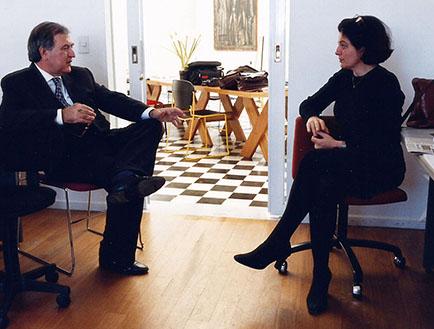 Vittorio Fagonne y Adriana Rosenberg