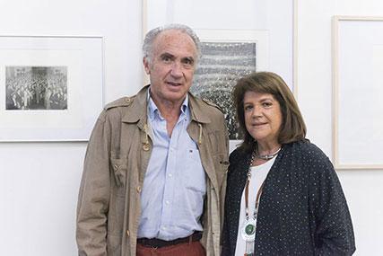 Poli De Luca y María Teresa Gowland