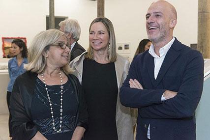 Marina Pellegrini, Lauren Bate, Raúl Naon