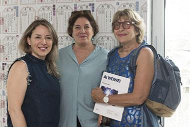 Cecilia Mezza, Adriana Rosenberg, Ana María Battistozzi