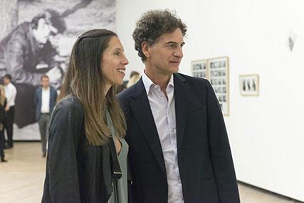 Sergio Sessa y señora