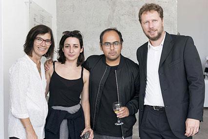 Mirta Unger, Sofía Mele, Victor López Zumelzu, Jorge Lewis