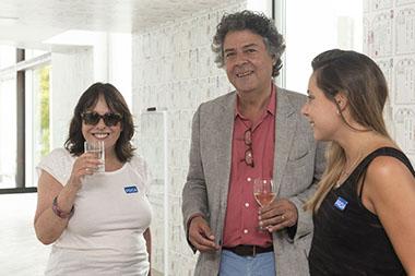 Cristina Mucci, Juan Pablo Correa, Violeta Mucci