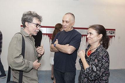 Marcos López, Arturo Carvajal, Cecilia Rabossi