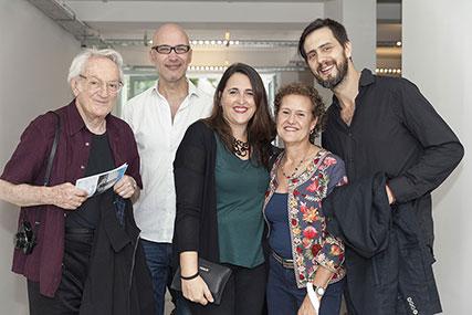 Leandro Katz, Augusto Zanella, Elizabeth Torres, Teresa Pereda, Ernesto Orellano