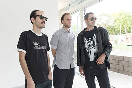 Alex Del Rio, Lutz Henke, Nicolás Monti