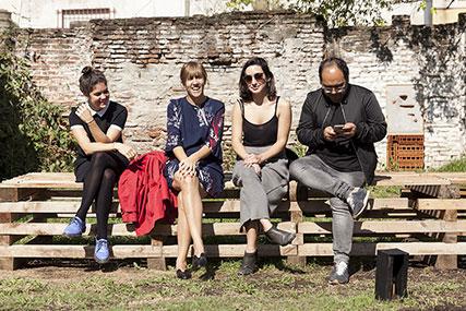 Maite Perez Cobo, Cecilia Jaime, Sofía Mele, Victor López Zumelzu
