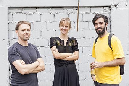 Eduardo Basualdo, Sofía Bohtlingk, Javier Villa