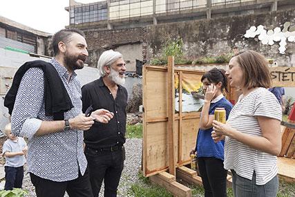 Agustín Pérez Rubio, Santiago Bengolea, Lucila Gradin, Elisa O´Farrell
