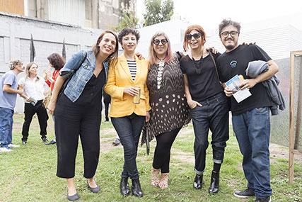 Luciana Massarino, Karina Acosta, Guillermo Mena