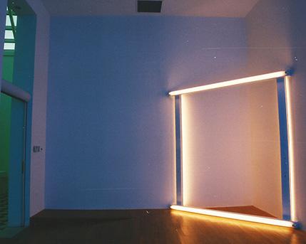 Parejas europeas. 1966/71. Estructuras de luces fluorescentes