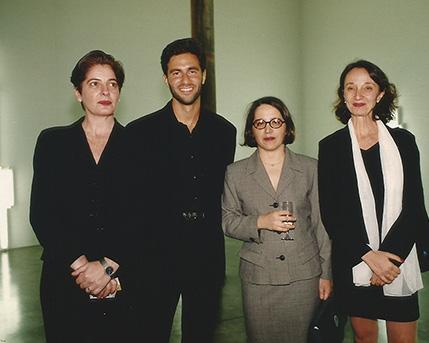 Adriana Rosenberg, Michael Govan, Victoria Verlichak , Sonia Becce
