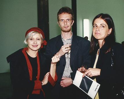 Patricia Rizzo, Guillermo y Virginia Goldschmidt