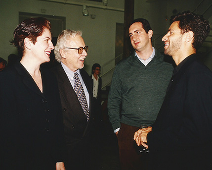 Adriana Rosenberg, Osvaldo Giesso, Sergio Quentin, Michael Govan