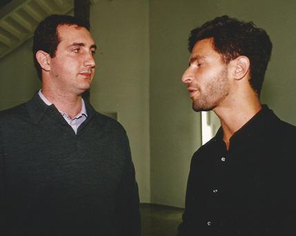Sergio Quentin y Michael Govan