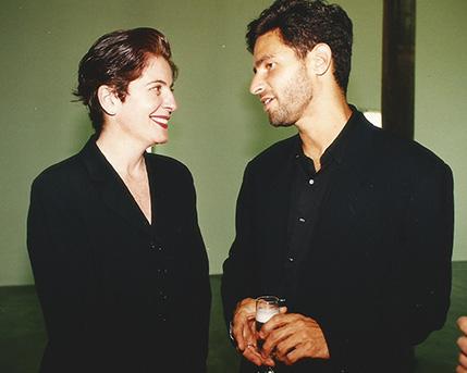 Adriana Rosenberg y Michael Govan
