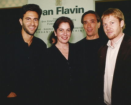 Michael Govan, Adriana Rosenberg  Arturo Carvajal y G. Spencer