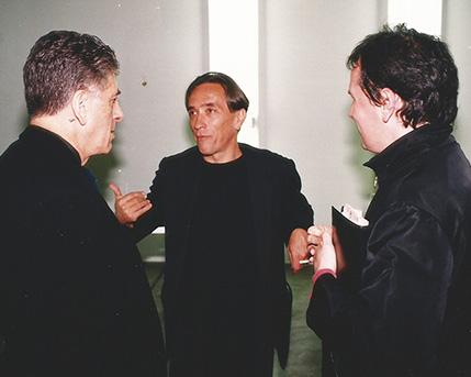 Claudio Segovia, Arturo Carvajal, Fernando Ezpeleta
