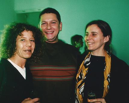 Guillermina Rosenkrantz, Sergio Avello y Pompi Gutnisky