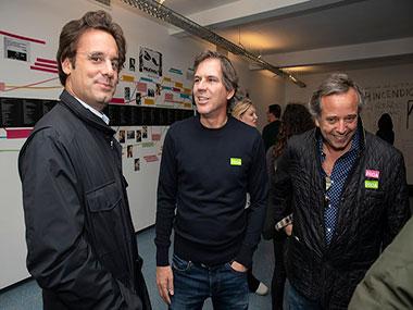 Ludovico Rocca, Alex Oxenford, Diego Costa Peuser
