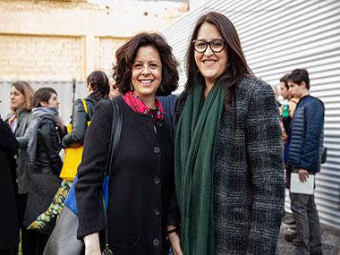 Victoria Dotti y Elizabeth Torres