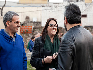 Adrián Garry, Elizabeth Torres, Cristián Alarcón