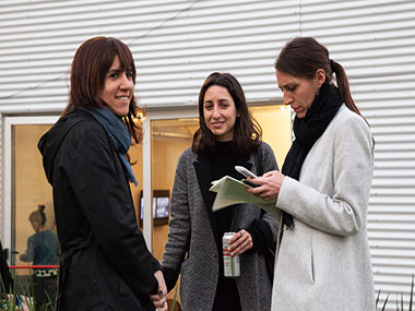 Cecilia Jaime, Sofía Mele, Soledad Oliva