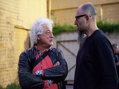 Marcelo Brodsky y Enrique Jeik