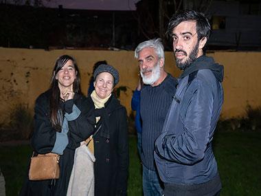 Julieta García Vázquez, Mónica Girón, Santiago Bengolea y Javier Villa